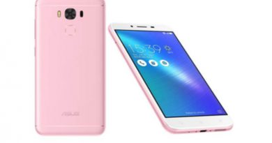 Asus zenfone 3 max rose pink
