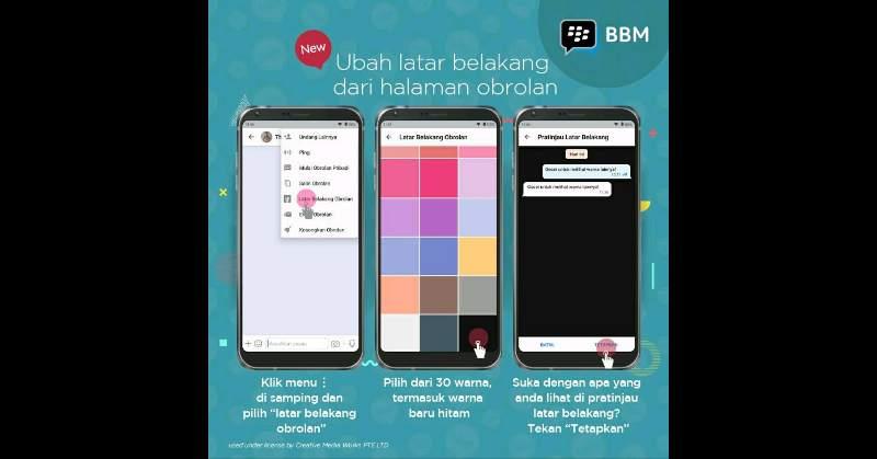 BBM Messenger Fitur