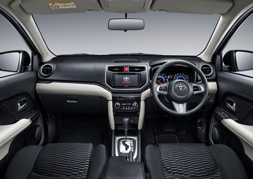 all new toyota rush 2018 interior