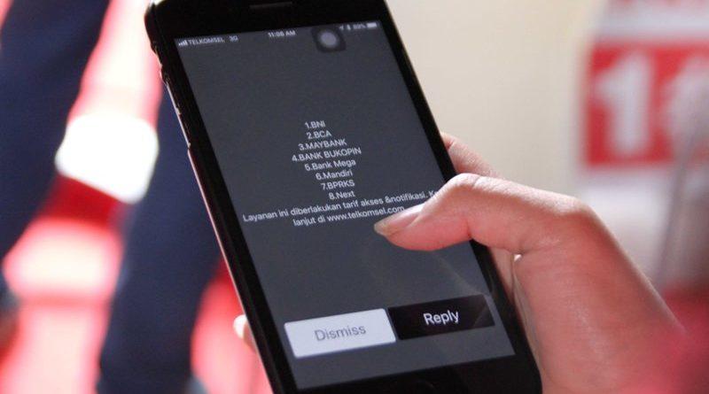 hadiah SMS banking