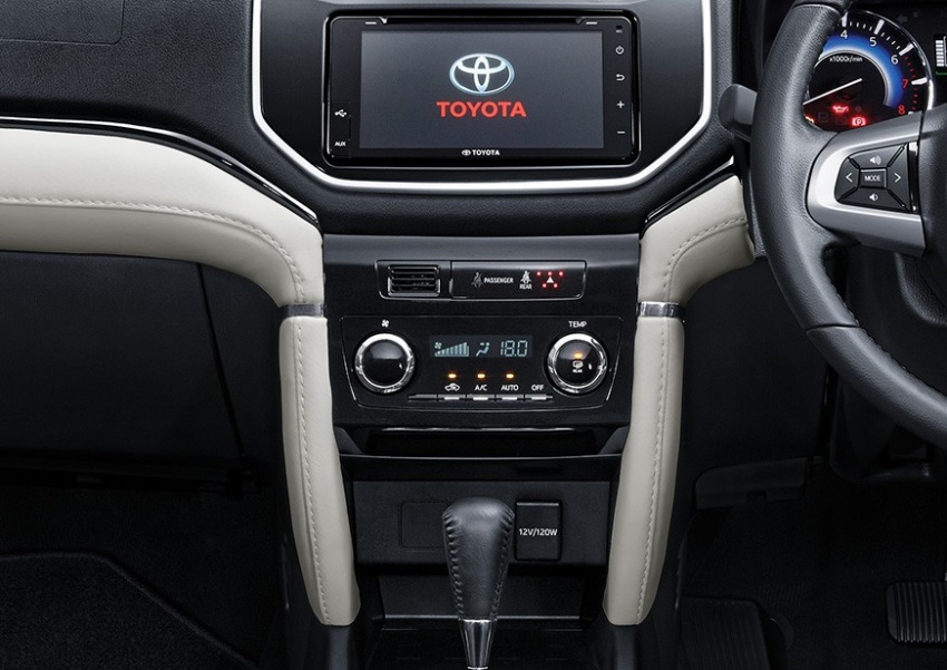 head unit all new toyota rush 2018