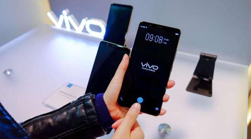 sensor sidik jari Vivo