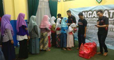 Donasi komunitas Innova Indonesia Community untuk yayasan yatim piatu