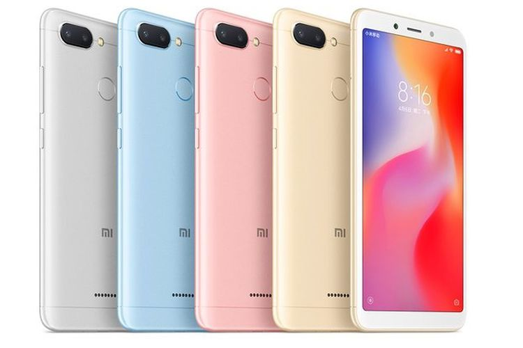 HP redmi 6