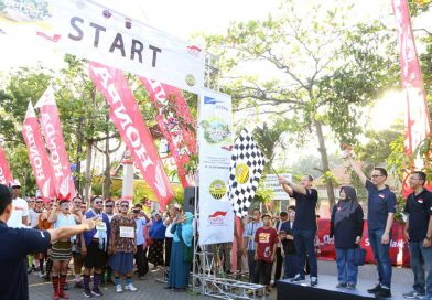 Festival Kampung Berseri Astra Semarang: Ajak Masyarakat Aman Berlalu Lintas