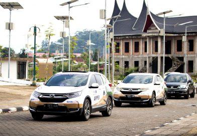 """""""Jelajah Nusantara All New Honda CR-V Turbo"""" Tiba Di Padang"""