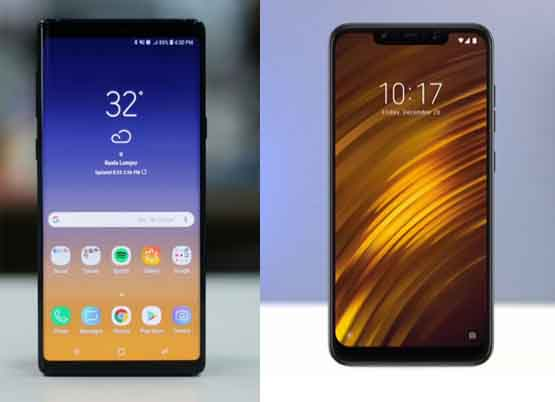 note 9 vs pocophone f1