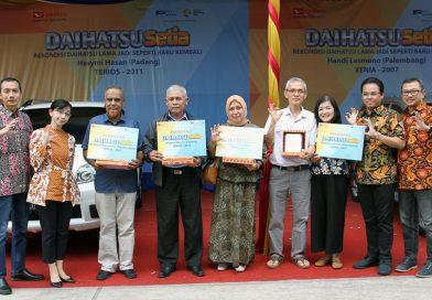 Tujuh Pelanggan Setia Daihatsu Terima Mobil Rekondisi Di Sumatera