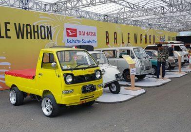 BALAD 2018, Nostalgia Mobil Daihatsu di Bandung
