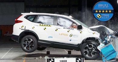 2 Penghargaan ASEAN NCAP untuk Honda CR-V