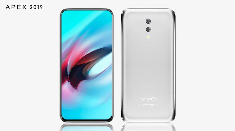 Beginikah Tampang Vivo APEX 2019?