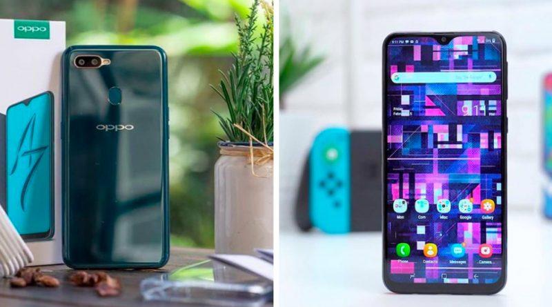 OPPO A7 vs Samsung Galaxy M20, Pilih Mana?