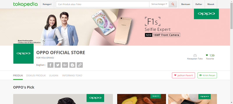 tokopedia official store 2