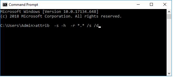 Mengembalikan File Yang Disembunyikan oleh Virus di Flashdisk