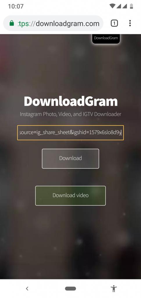 Download Video dari Instagram Lewat HP