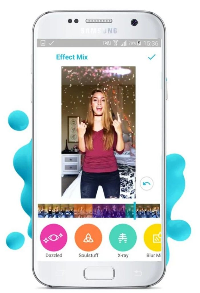 Funimate, a Video Editing Application on Android