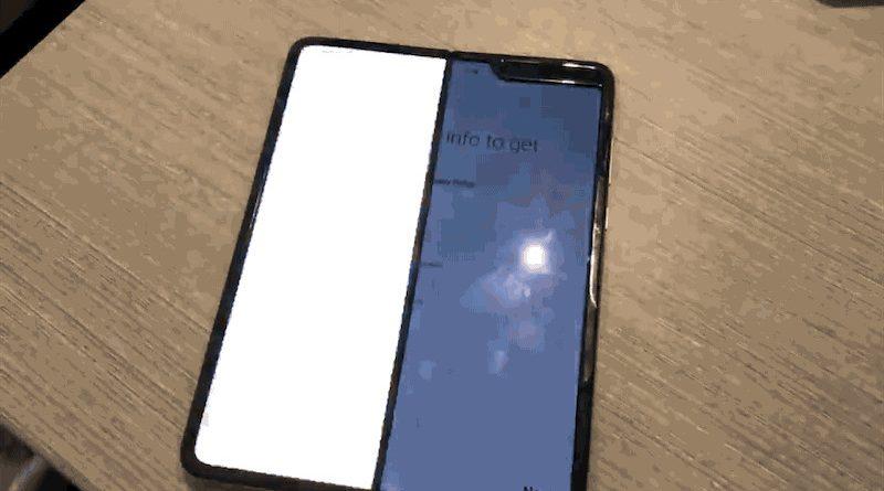 Baru Dua Hari Digunakan, Layar HP Samsung Galaxy Fold Sudah Rusak