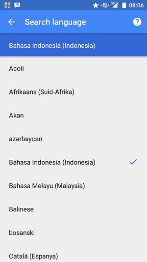 Daftar Perintah Suara di Google Now