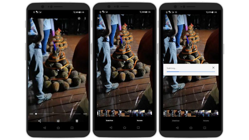 Agar Tangkapan Video Tidak Goyang di Android