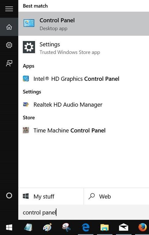 Menghapus Internet Explorer di Windows 10