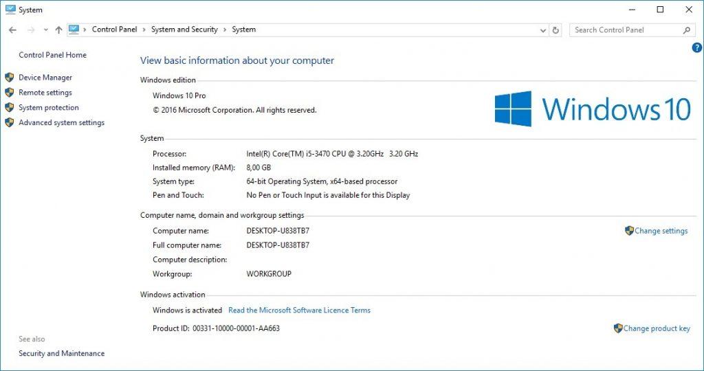 Cara Memeriksa Spesifikasi PC/laptop Tanpa Aplikasi