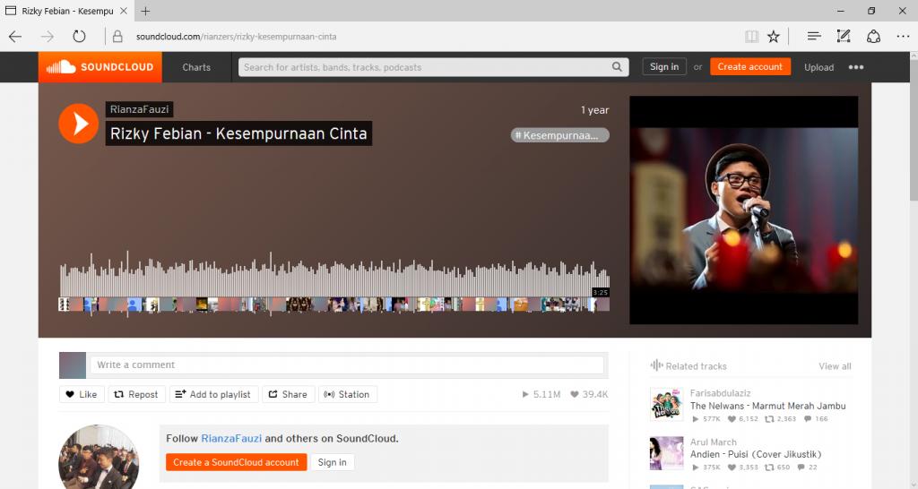 Download Lagu dari SoundCloud Tanpa Aplikasi