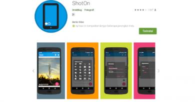Menambahkan Watermark Shoton di HP Android