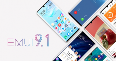 Upgrade EMUI 9.1