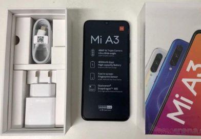 Lihatlah Foto Kemasan Xiaomi Mi A3 Ini