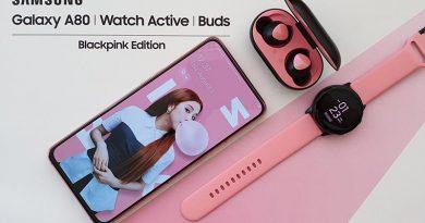 Samsung Galaxy A80 Edisi Spesial Blackpink