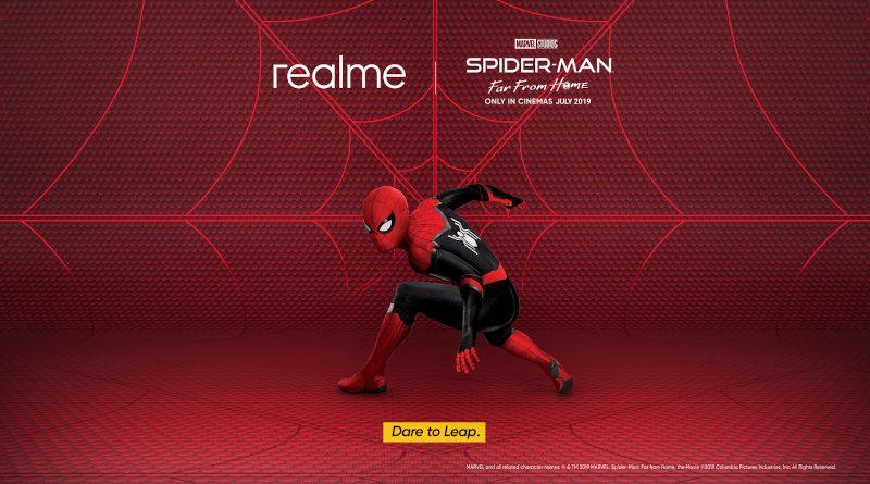 Realme dan Spider-man Berkolaborasi