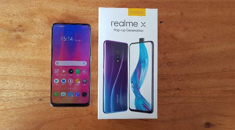 review realme x