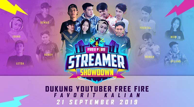 Free Fire Streamer Showdown