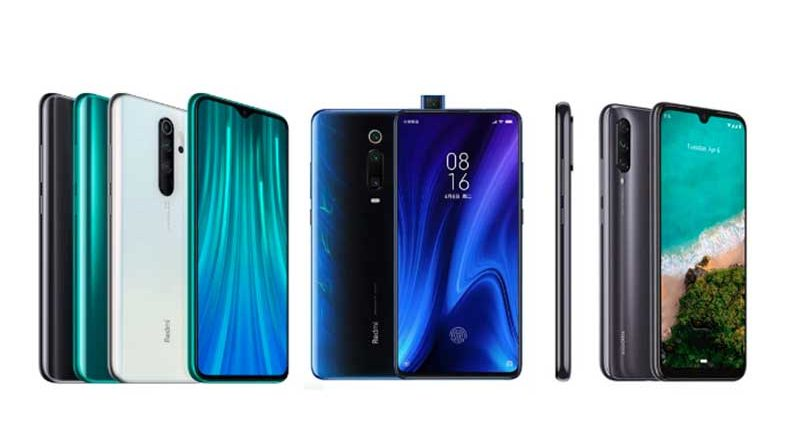 perbandingan hp redmi note 8 vs redmi k20 vs mi a3