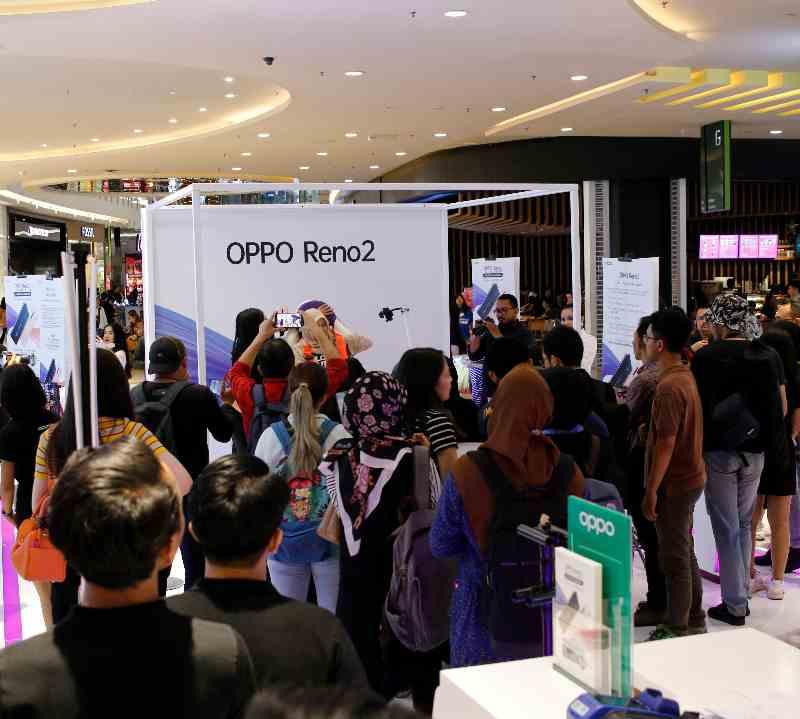 Oppo reno2 penjualan indonesia