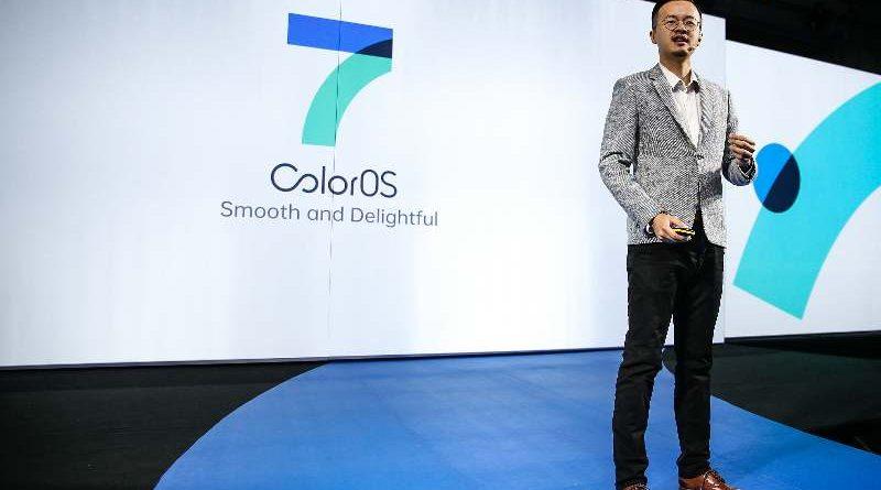Color OS 7 Martin Liu