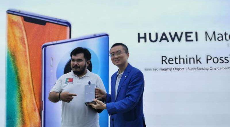 Huawei Mate 30 Pro Pick Up Day