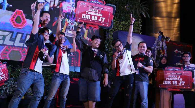 Sadu Fate Juara eSport ShellFire Tournament Telkomsel