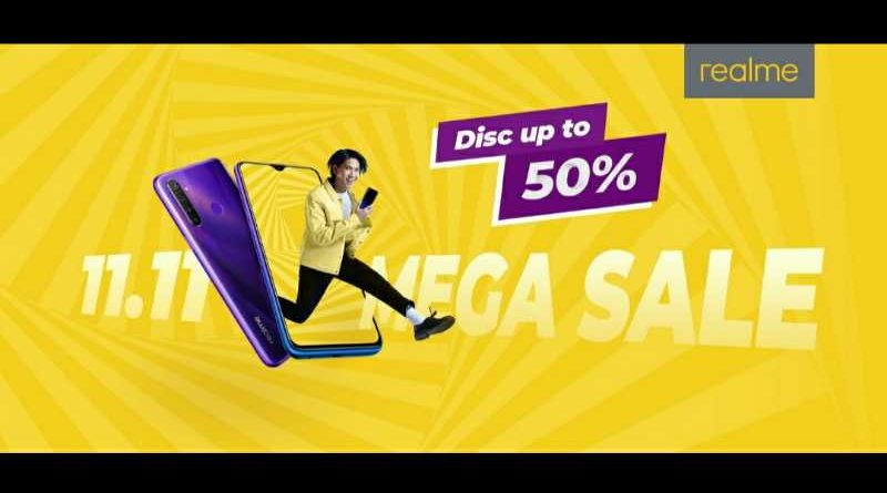 realme Mega Sale 11.11