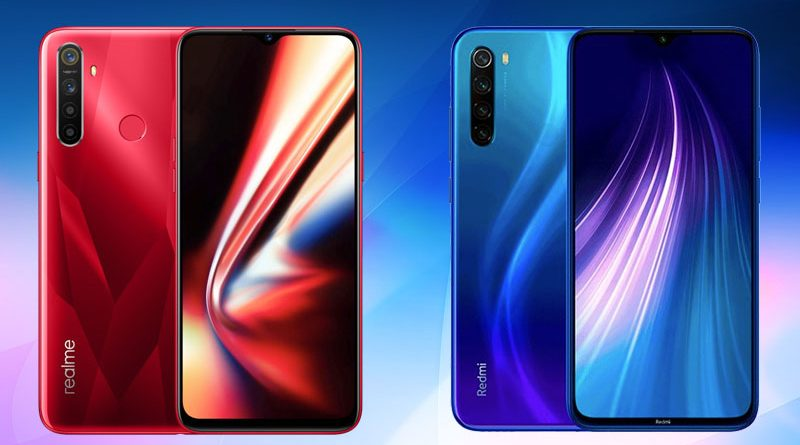 perbandingan realme 5s vs redmi note 8