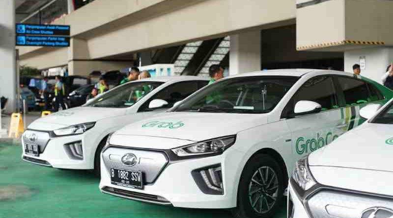 Grab dan Hyundai Luncurkan GrabCar Elektrik
