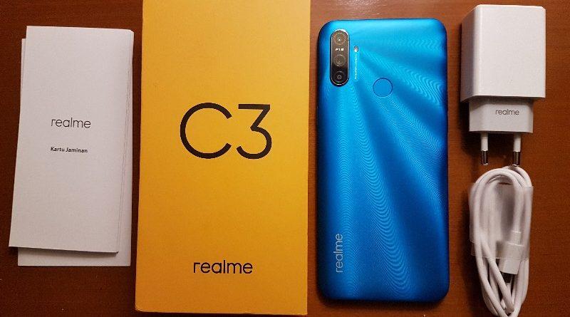 Paket Bundling realme C3 Dapat Bonus Kuota Smartfren 384GB 2 tahun