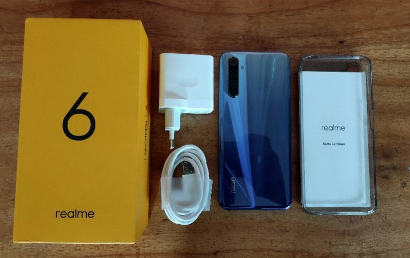 unboxing realme 6