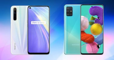 realme 6 vs samsung galaxy a51
