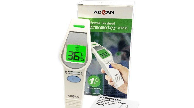 Advan Infrared Thermometer: Harga & Review Singkat