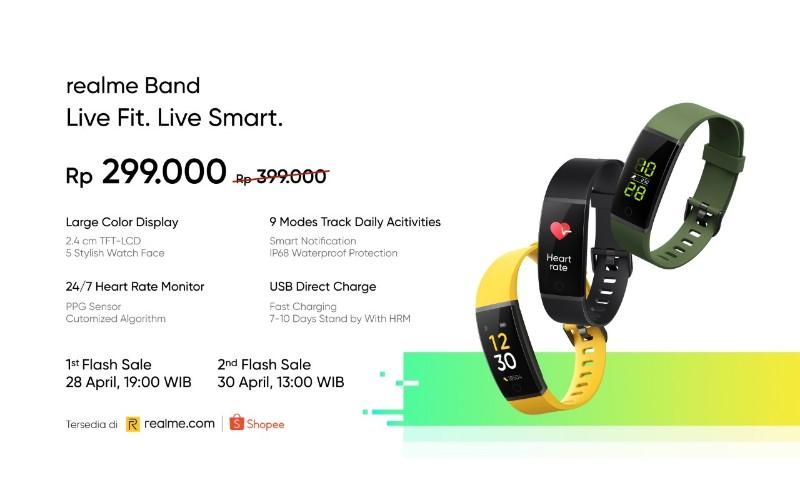 harga realme band indonesia