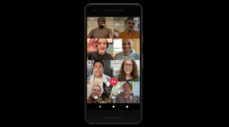 video call whatsapp 8 partisipan