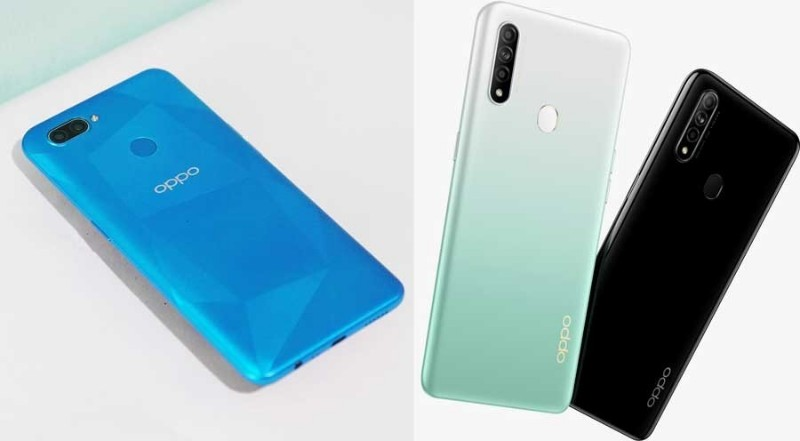 oppo a12 and oppo a31, the latest 2020 series