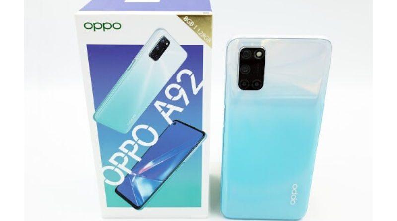 OPPO A92, Cek Review Singkat & Harga HP Ini