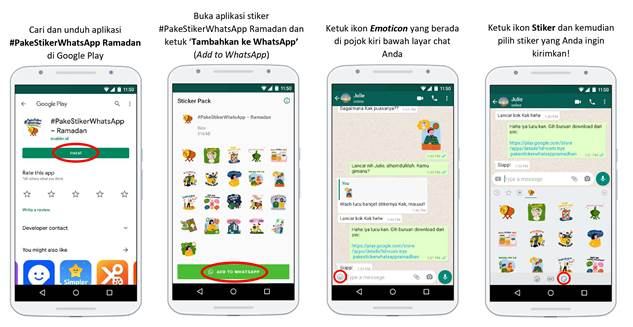 stiker whatsapp khusus ramadan indonesia
